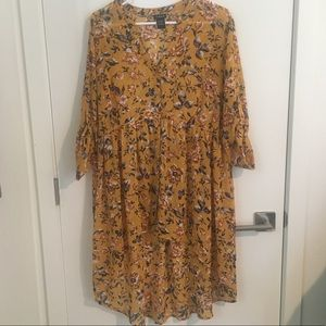 Hi-Low Chiffon blouse